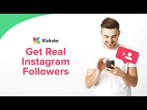 Get Real Instagram Followers   Kicksta