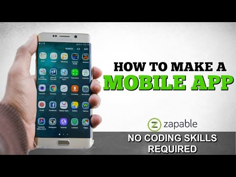 How To Make A Mobile App - for beginners (NO PROGRAMMING SKILLS NEEDED)