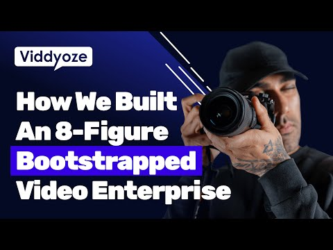The Viddyoze Story | How We Built An 8-Figure Bootstrapped Software Enterprise