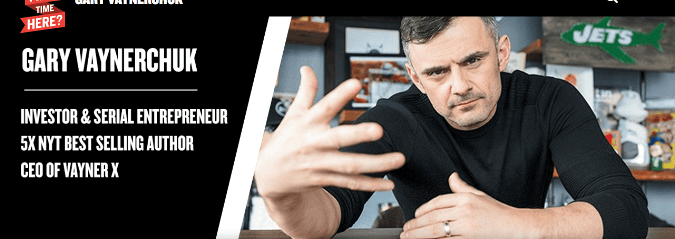 Gary Vaynerchuk Content Marketing Example
