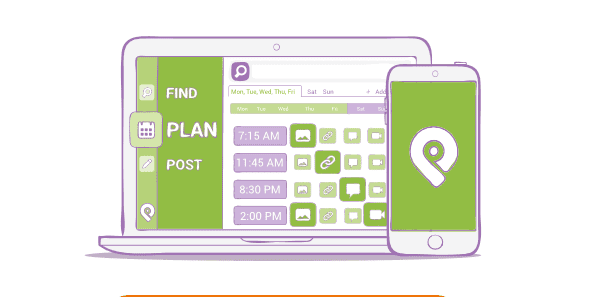 Post Planner - social media content calendar tool