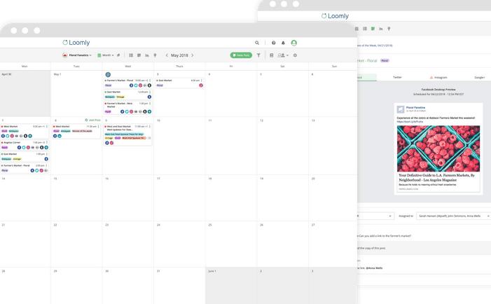 Loomly - editorial content calendar tool