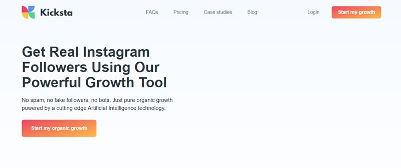 Kicksta Instagram growth
