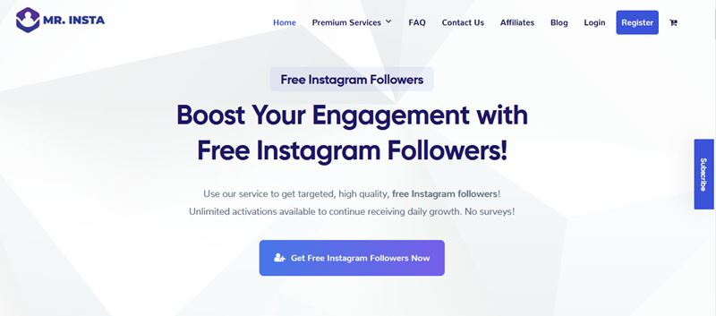 Mr Insta review